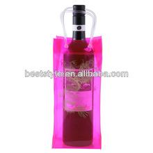 Elegant Custom Ribbon Tie Wine Gift Package Bag