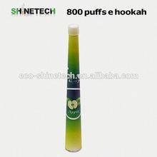 2014 Newest cone style 800puffs disposable e hookah electronic shisha e-hookah rechargeable battery