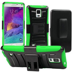 3 in 1 Rugged Hard Hybrid Holster Case for Samsung Galaxy Note 4