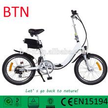 BTN good quality electric hybrid bike with PAS sensor