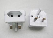 hot selling BS1363 Schuko to UK electronic transformer plug adapter/uk schuko power plug socket