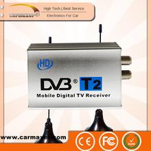 hot selling HD mobile digital TV receiver external analog tv tuner box