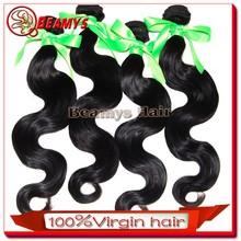 Good quality silky body wave hair, virgin flip in hair extension cheap