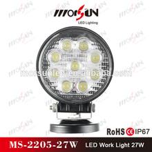 """4.3"""" round 2250lumen 27w led, 27w led work light, new 27w car led tuning light led work light"""