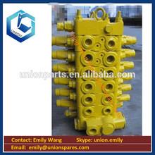 Excavator parts excavator hydraulic PC200-7 PC220-7 excavator control valves 723-46-20502 main hydraulic valves 723-46-20402