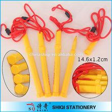 Novelty special screw shape ball pen