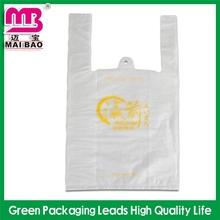 competitive price plastic bag mat t-shirt handle
