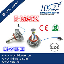 NSSC High Power Crees 32w H8 LED Angel Eyes with true Emark