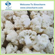 New Crop Frozen Cauliflower Florets