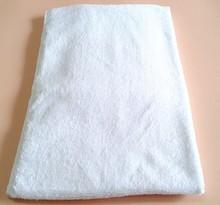 High quality white cotton bathroom towel