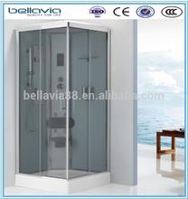 CHINA aluminum bathroom cubicle 4/5mm clear glass,8522Dbathroom round shower cabinet/shower cabin/shower room