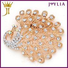 Professional Design Graceful Style Rhinestone cheap brooch 2012