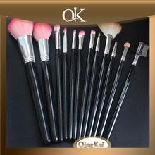QK makeups/make up brushes set brush set with nylon hair