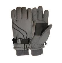 PU palm adjustable wrist waterproof ski gloves