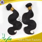 2014 Unprocessed 6A wavy peruvian human hair extension, wholesale hair product virgin peruvian hair bundles