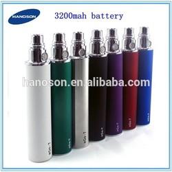 3.3-4.8v adjustable voltage ego battery vaporizer, ego twist battery ego 3200 4500 mah battery