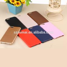 Alibaba china sale IMD ultrathin PU leather case for iphone 6