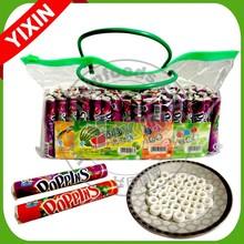 circle shape halal fruit candy