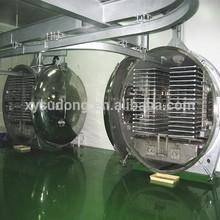 High capacity 100m2 vacuum food freeze dryers sale