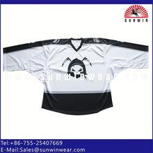 dye sublimation custom best price fantasy pattern knitted team canada ice hockey shirt