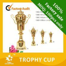 Pista e campo de medalhas, campeões réplica do troféu, plástico barato troféus