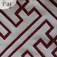 2015 chenille material fabric sofa textile
