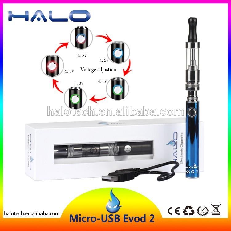 Asap Rokok Pelangi Mirco Evod2 Tegangan Output Konstan Baterai Kit Pelangi Asap Rokok