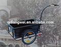 Utilidad Hauler de almacenamiento de remolque acoplado de la bicicleta