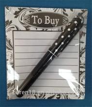 Mini Notepad With Pen, Memo Pad