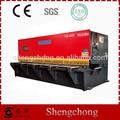 shengchong marca china fabricante de folha manual de aço guilhotina
