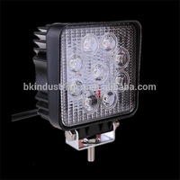 Cape Verde Is. IP67 10to30V Aluminum+PC 27W WORK LED LIGHTS cheap price