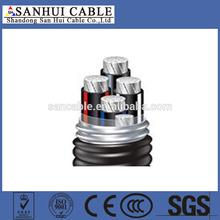 professional manufactory 33kv abc aerial bundle cable
