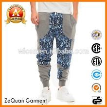 shanghai supplier 2015 lasted design Aeropostale fitch 100% cotton custom men jogger wholesale sweatpants