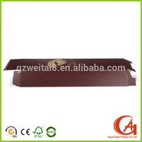 Alibaba Online Luxury Weave Hair Extension Packaging Box