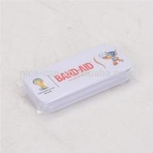 band-aid slide tin box&slide top metal tin box&slide open box for Brand Adhesive Bandages