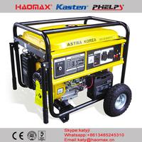 ANGOLA Gasoline generator ASTRA KOREA AST8000EW