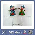 kinsheng più venduto prodotti di vetro spaventapasseri giardino bastoni