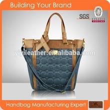 1490 original design woman handbags,customized material tote bags, offer ODM, OEM