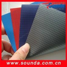 fire resistant pvc coated tarpaulin fabric