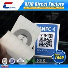 Printable Topaz512 NFC Sticker Unique QR Code