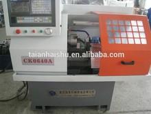 yüksek kalite ve düşük fiyat minivan f otomatik ck0640a cnc torna makinesi hashu