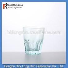 LongRun china supplier cheap barware collection color white wine glasses