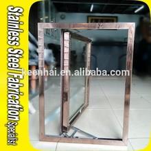 Keenhai OEM Customed House Decorative Modern Iron Window Grill Design