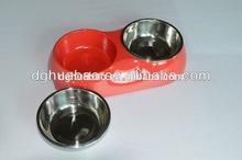 cute pet bowl of mat