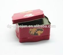 Popular food grade wedding candy tin can custom and hot sale