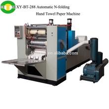 New model Z- folding agglutination Hand towel paper machine