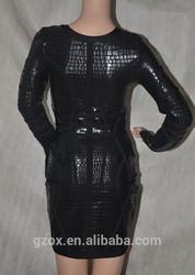 New fashion 2015 spaghetti strap mini sexy bodycon for lady girl women princess knee sleeve bandage dress