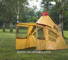 GLACIER INDI DOME TENT,Korean Style Design Camping Tent, Big Family Outdoor Camping Tent Tarp