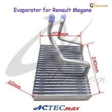 Car Air Conditioning Evaporator Coil for Renault Megane, Auto A/C Evaporator Core 60*200*240 LAMI