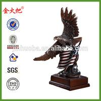 Promotional Antique brass Eagle figurine for sale